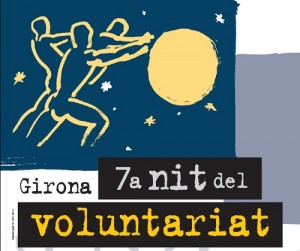 Cartell de la 7a Nit del Voluntariat de Girona