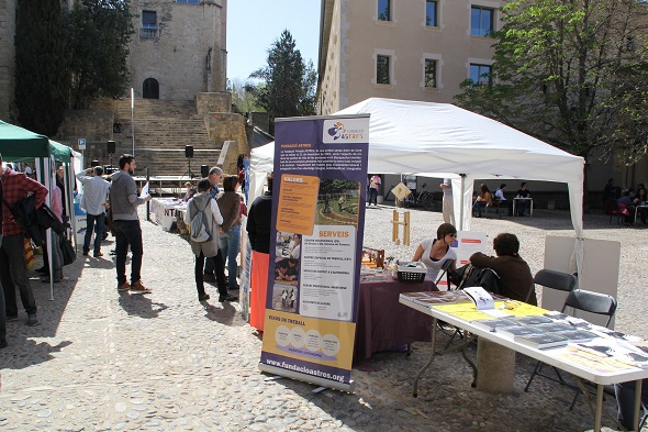Parada de la fundació Astres al FSCAT-Girona 2014